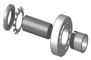 Adapter Sleeve Assembly And Lock Nut
