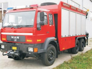 Truck Rescue Vehicles, Water Canon and Riot Control Vehicles