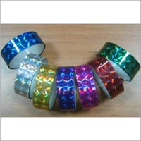 Holographic Tape Roll