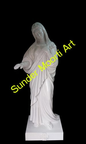Marble Lady Of Palestine Statue