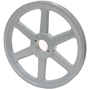 H-Bushing Single Groove Pulley