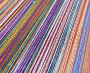 Coloured Rubber Threads