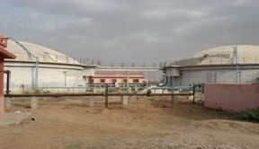 Sewage Gas To Power Plant