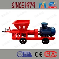Single Screw Cement Grout Pump