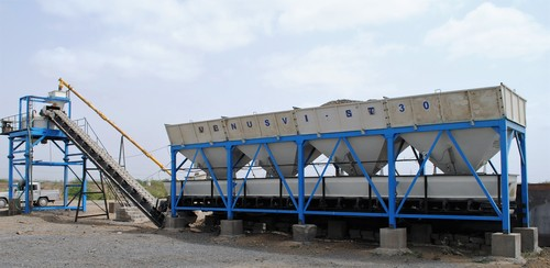 Stationary Type Concrete Batching Plant Model Vi St 30