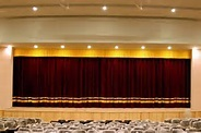 Auditorium Horizontal Motorized Stage Curtains