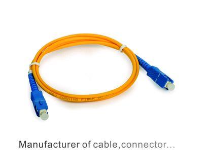 Singlemode Zipcord ST to ST Fiber Optic Patch Cord