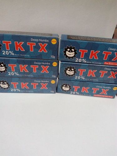 10g TKTX Tattoo Numb Cream Topical Permanent Makeup Anesthetic in ...