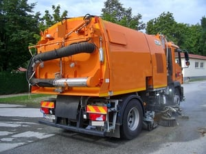 Road Sweeping And Cleaning Machine