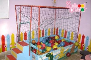 Wooden Ball Pool With Iron Frame