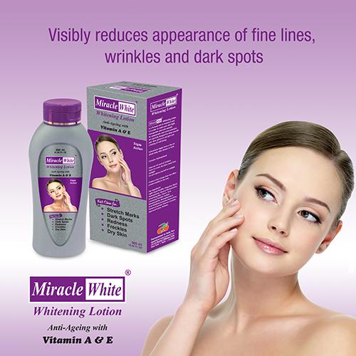 Miracle White Whitening Body Lotion