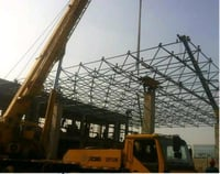 Large Span Space Frame Roofing