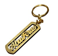 Personalised Brass Key Chain