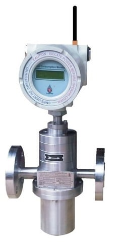 Wireless / RF Enabled / Cloud Compatible / Battery Operated Flowmeter
