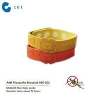 Fashion 100% Natural LDPE Anti Mosquito Repellent Band (Deet Free)