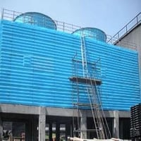 Field Erected Pultruded FRP Cooling Towers