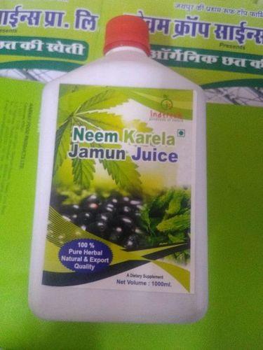 Organic Neem Karela Jamun Juice