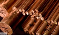 Copper and Brass Rods