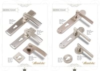 Brass Door Mortise Handles