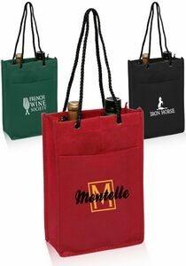 Non-Woven Double Bottle Bag
