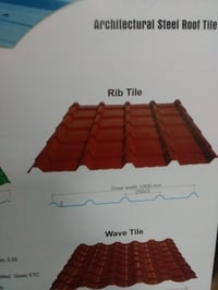 Architectural Steel Roof Tile
