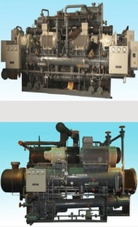 Screw Chillers With Open Type Compressors