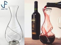 Custom Artificial Crystal Glass Decanter
