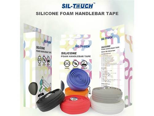 Sil-Touch 100% Silicone Foam Handlebar Tape