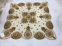 Beads Embroidered Table Cover