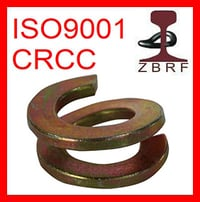 Double Coil Spring Washer for Railway Fastener