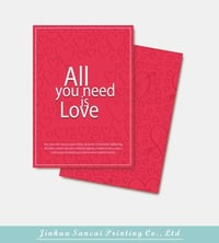 Fancy Paper Greeting Card