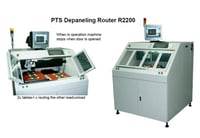 R2200 PCB Depaneling Router