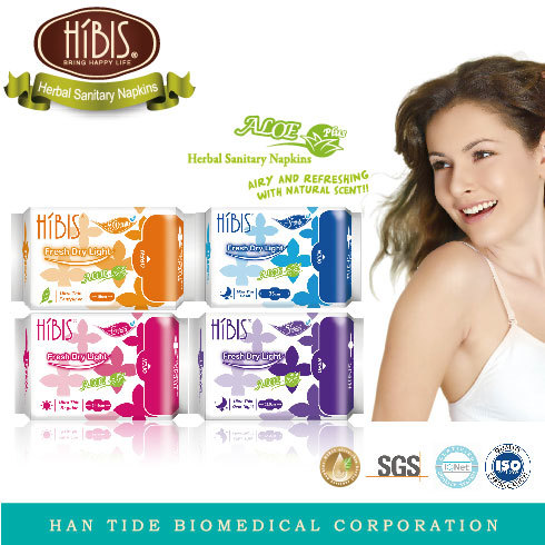 Herbal Fitting And Breathable Sanitary Napkins