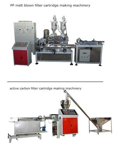 PP And CTO Carbon Filter Cartridge Manufacturing Plant