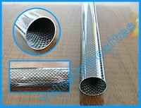 3K Glossy Surface Carbon Fiber Pipe