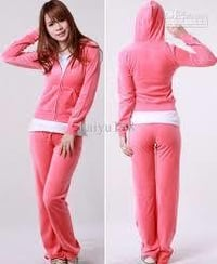 Baby Pink Women Tracksuit