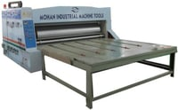 Nxgn Chain Feed Single And Double Colour Flexo Printer And Slotter Machine