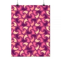 Beautiful Abstract Cashew Pattern A3 Sized Poster