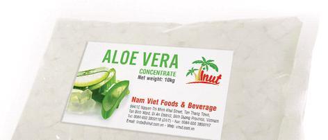 Aloe Vera Juice Concentrate In Bag