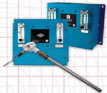 Oxygen Probes Air Reference Panel & Signal Conditioners