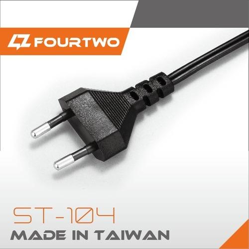Electric Extension European Standard 2 Pin Plug AC Power Cord