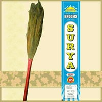 Surya V-Shaped Double Grass Household Floor Broom