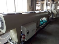 New Style Pc Carbon Spiral Duct Tube Extrusion Line Machine