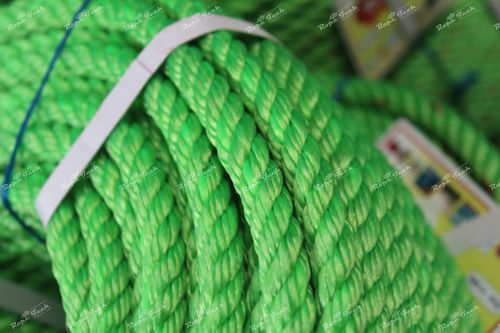 Green Color Plastic Rope