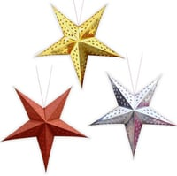 Decorative Colored Hanging Stars