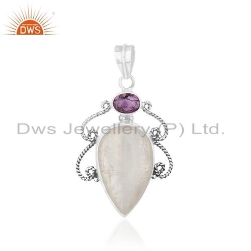 Pave Diamond Emerald Gemstone Ring