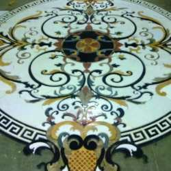 Inlay Design Marble Tile