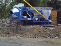 Mobile Batching Plant Capacity 20CuM