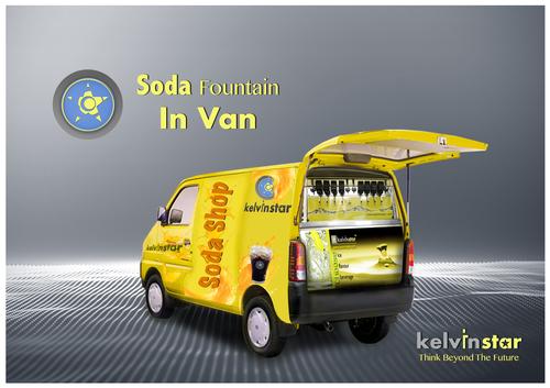 Multi Flavor van Soda Vending Machine