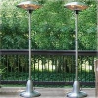 100% Stainless Steel Body Electric Patio Heater